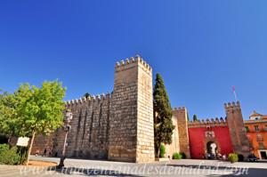 Murallas de Sevilla, Puerta del León de los Reales Alcázares