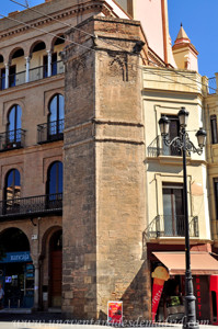 Murallas de Sevilla, Torre de Torre de Abd-el-Aziz