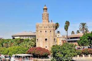 Murallas de Sevilla, Torre del Oro