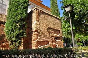 Murallas de Sevilla, Torre recortada de los Jardines de Murillo