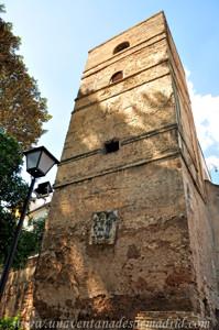 Murallas de Sevilla, Torre recrecida de los Jardines de Murillo