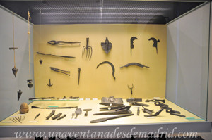 Museo Arqueológico de Sevilla, Útiles de trabajo de época romana