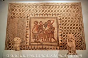 Museo Arqueológico de Sevilla, Mosaico del Siglo XIII representando el Triunfo de Baco