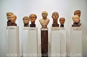 Museo Arqueológico de Sevilla, Sala XVIII: retrato romanos