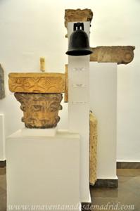 Museo Arqueológico de Sevilla, Campana, cimacio y capitel visigodos