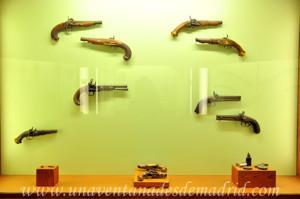 Museo de Artes y Costumbres populares de Sevilla, Armas de fuego para defensa personal
