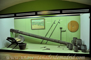 Museo de Artes y Costumbres populares de Sevilla, Elementos para la producción del aceite