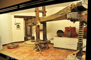 Museo de Artes y Costumbres populares de Sevilla, Sala XI: Prensa de viga
