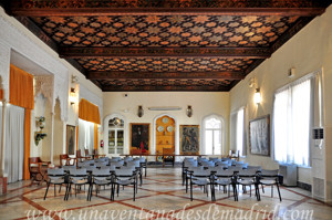 Museo de Artes y Costumbres populares de Sevilla, Salón Orleans