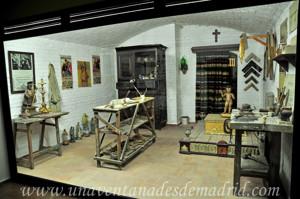 Museo de Artes y Costumbres populares de Sevilla, Taller de dorado