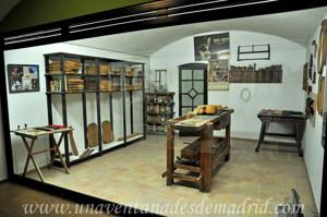 Museo de Artes y Costumbres populares de Sevilla, Taller de guitarrero