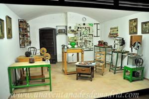 Museo de Artes y Costumbres populares de Sevilla, Taller de palillos