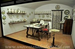 Museo de Artes y Costumbres populares de Sevilla, Taller de pintura de loza
