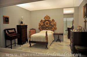 Museo de Artes y Costumbres populares de Sevilla, Dormitorio de Isabel Díaz Velázquez
