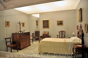 Museo de Artes y Costumbres populares de Sevilla, Dormitorio de Rosario Díaz Velázquez