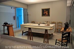 Museo de Artes y Costumbres populares de Sevilla, Cuarto planchador de la familia Díaz Velázquez