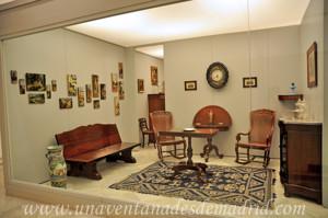 Museo de Artes y Costumbres populares de Sevilla, Recibidor de la vivienda de la familia Díaz Velázquez
