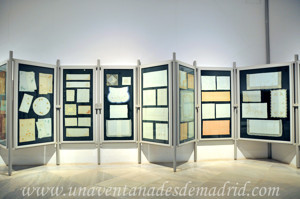 Museo de Artes y Costumbres populares de Sevilla, Cuadrantes y muestras de mantelería