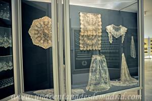 Museo de Artes y Costumbres populares de Sevilla, Encajes de aplicación