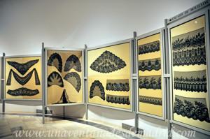 Museo de Artes y Costumbres populares de Sevilla, Encajes de fondos decorados