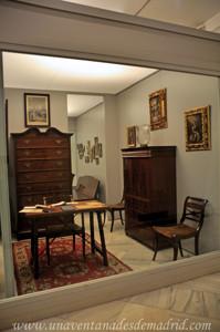 Museo de Artes y Costumbres populares de Sevilla, Escritorio de la vivienda de la familia Díaz Velázquez