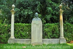 Sevilla, Parque de María Luisa, Monumento a Dante Alighieri