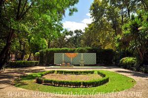 Sevilla, Parque de María Luisa, Glorieta de Luis Montoto (22)
