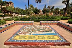 Sevilla, Parque de María Luisa, Glorieta de la Mesa Mural