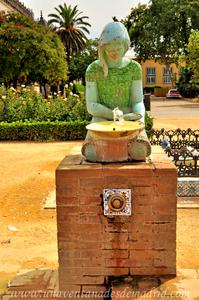 Sevilla, Parque de María Luisa, Fuente de la Glorieta de las Palomas