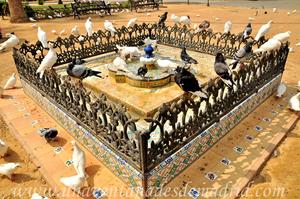 Sevilla, Parque de María Luisa, Glorieta de las Palomas