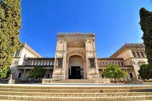 Sevilla, Parque de María Luisa, Pabellón de las Bellas Artes (30)