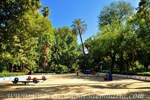 Sevilla, Parque de María Luisa, Glorieta Azul (7)