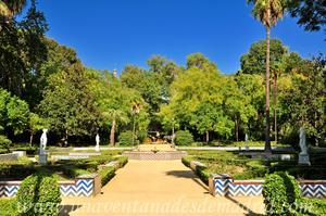 Sevilla, Parque de María Luisa, Glorieta de la Concha (8)