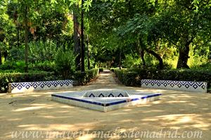 Sevilla, Parque de María Luisa, Glorieta de Mario Méndez Bejarano