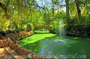 Sevilla, Parque de María Luisa, Noreste de la Isleta de los Patos