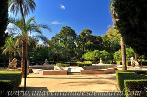 Sevilla, Parque de María Luisa, Jardín de los Leones (11)