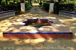 Sevilla, Parque de María Luisa, Fuente Norte de la antigua Glorieta de las Pilitas, actual Glorieta de Mario Méndez Bejarano