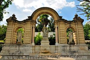 Sevilla, Parque de María Luisa, Portada de la Exposición