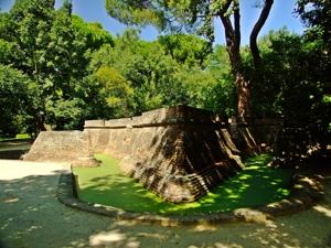 Parque de El Capricho, Batería o fortín