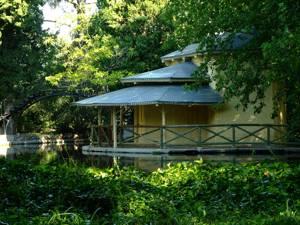 Parque de El Capricho, Casa de Cañas