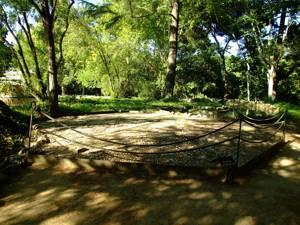 Parque de El Capricho, Pabellón de Esteras