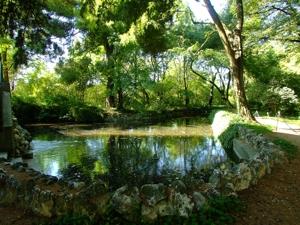 Parque de El Capricho, Ria