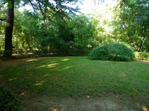 Parque de El Capricho, Espacio circular para el Juego de la Sortija