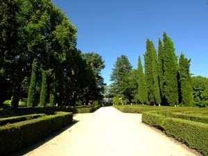Parque de El Capricho, Parterre