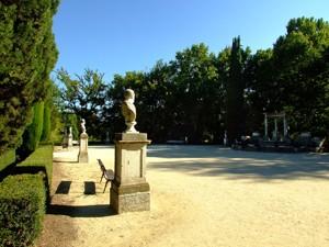 Parque de El Capricho, Plaza de los Emperadores
