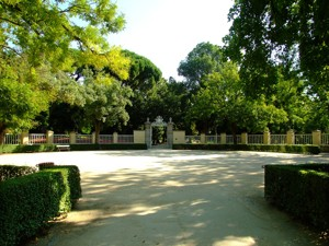 Parque de El Capricho, Plaza de Toros