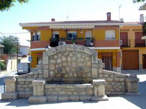 Santorcaz, Fuente de la Plaza de la Constitución