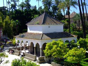 Reales Alcázares, Cenador de la Alcoba