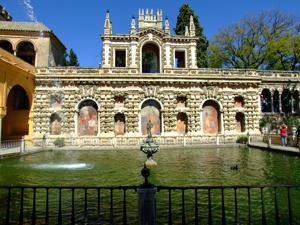 Reales Alcázares, Estanque de Mercurio