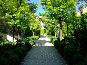 Reales Alcázares, Jardín de la Galera